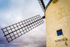 Windmühle von Sancho Lizenzfreies Stockfoto