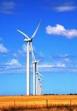 Windmühlen Stockfotografie
