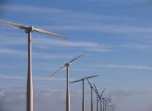 Windmühlen Lizenzfreies Stockbild