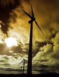 Windmühlen Lizenzfreie Stockfotografie