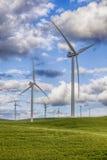 Windmühlen auf Windpark Lizenzfreie Stockbilder