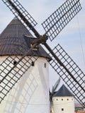 Windmühlen in Campo de Criptana stockbild