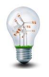 Windmühlen-Glühlampe Stockbild