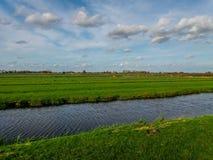 Windmühlen nördlich von bei den Niederlanden Lizenzfreies Stockbild