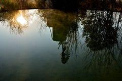 Windmühlen-Reflexion Lizenzfreie Stockfotos