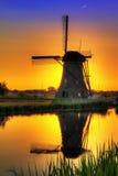 Windmühlenfarben Lizenzfreie Stockfotografie
