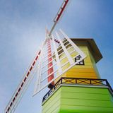 Windmühlenhaus Stockbilder