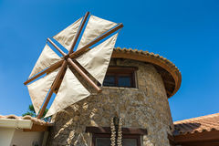 Windmühlenhausdetails Stockbild