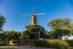 Windmühlenmuseum de Valk Stockfoto