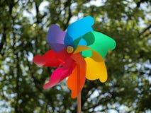Windmühlenspielzeug Lizenzfreies Stockfoto