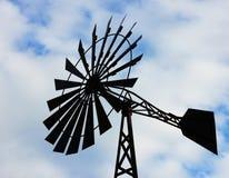 Windmühlenwasserturm Stockfoto
