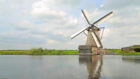 Windmühle stock video