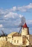 Windmühlenviertel Stockfotos