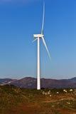 Windmil in de bovenkant van een montain Royalty-vrije Stock Afbeelding