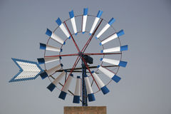 Windmill. Part of a windmill near campos, mallorca Royalty Free Stock Images