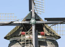 Windmill. Detail of a dutch windmill Stock Photos