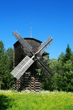 Windmill. On the meadow in the woods - Russia Stock Image