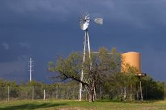 Windmill. Somwhere in southern Texas Stock Images