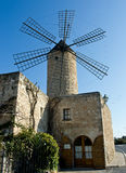 Windmill. Old windmill from Majorca, Spain Royalty Free Stock Images
