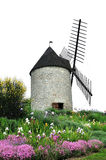 Windmill. An old windmill in the south of France Stock Photos