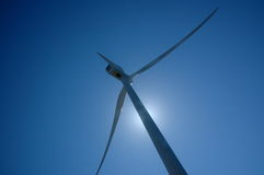 Windmill. Winmill against blue sky in Holland Royalty Free Stock Photo