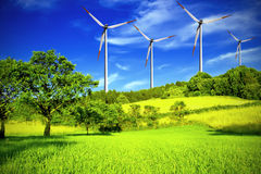 Free Windmill Royalty Free Stock Image - 12925606
