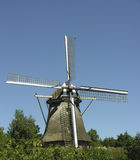 Windmill. Dutch windmill Stock Images