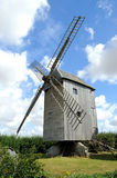 Windmill. Wind mill with blue sky royalty free stock photo