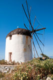 Windmill. In Naxos island, Greece Royalty Free Stock Photos