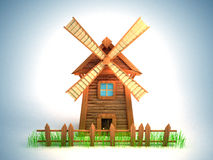 Windmill Stock Image