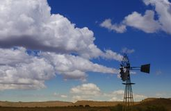 Windmill. In the Karoo, South Africa stock photos