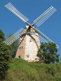 Windmill. Renovated windmill in Roebel, Mecklenburg-Western Pomerania, Germany Stock Photography