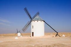 Windmill. In Campo de Criptana, Spain Royalty Free Stock Photo