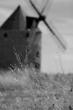 The windmill. An artistic view of a traditional spanish windmill Royalty Free Stock Photo