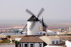Windmill. In Campo de Criptana, Spain Royalty Free Stock Photos