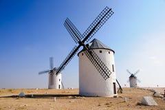 Windmill. In Campo de Criptana, Spain Stock Photos