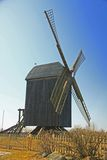 Windmill. Old windmill on the island of Usedom, Mecklenburg-Western Pomerania, Germany Royalty Free Stock Photography