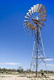 Windmill. Wndmill in South Australia with blue sky Stock Photography