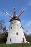 Windmill. The old windmill in  the Bornholm (Denmark Royalty Free Stock Photography