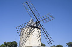 Windmill. A nice view of a ancient windmill Royalty Free Stock Images