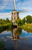 Windmill. A windmill in Amsterdam, Netherlands Stock Image