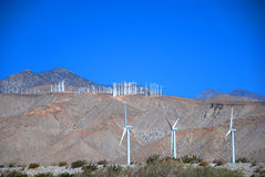 Windmill. Lots of Windmill in a bright sunny day Stock Images