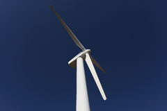 Windmill. In the countryside, with blue sky Royalty Free Stock Photo