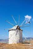 Windmill. Old windmill near Bodrum, Turkey Royalty Free Stock Image