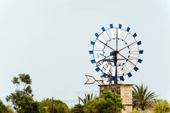 Windmill in Majorca Royalty Free Stock Photos