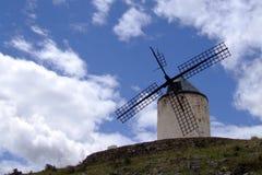 Windmill. At Castilla-La Mancha Royalty Free Stock Photography