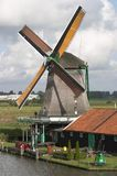 Windmill. In Holland Stock Photo