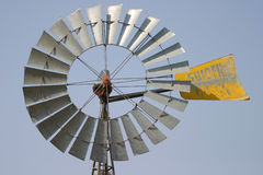 Windmill. Blades of a windmill used to pump water by wind power royalty free stock photos