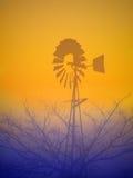 windmill royaltyfri illustrationer