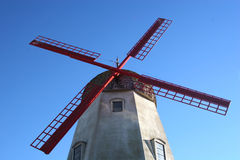 Windmill. A reproduction windmill in California royalty free stock photos